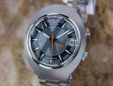 Omega Seamaster Memomatic 40mm Alarm 190 Vinatge Automatic Swiss Men's Watch MX