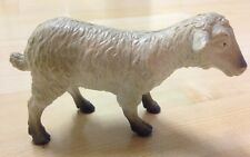 1999 en plastique animal de ferme jouet figure moutons blancs 5""