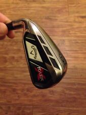 Left Handed Callaway Razr X Black 6 Iron, Uniflex Graphite Shaft, See Pics