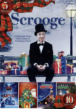Scrooge: Includes 5 Movies - Bonus 10 Holiday Songs New DVD