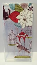 Coque gel souple incassable motif fantaisie pour XPERIA Z3 (Oiseau en cage)