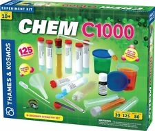 Thames & Kosmos CHEM C1000 - CHEMISTRY KIT - 125 Science Experiments