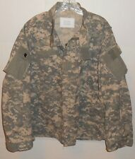 Army Combat US Military Issue Green Camo Uniform Mens Size XL Jacket Never Worn