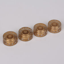 4pcs Gold Speed Guitar Control Knobs For Gibson Les Paul Guitar Parts