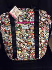 NWT TOKIDOKI FOR HELLO KITTY LARGE BACKPACK HAND BAG