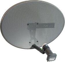 Sky Dish Zone 1 Satellite Dish Quad LNB Freesat PVR HD Plus Mk 4 New