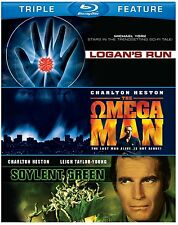 LOGAN'S RUN /SOYLENT GREEN / THE OMEGA MAN -   Blu Ray - Sealed Region free