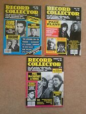 3 Record Collector magazines - PAUL McCARTNEY/WINGS/ DENNY LAINE #125,162,191
