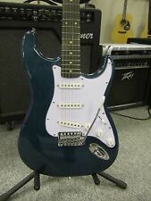 Jay Turser JT 300  Stratocaster Electric Guitar Trans Blue Green