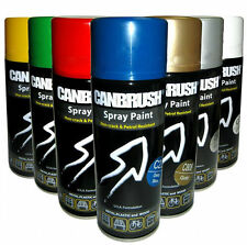 CANBRUSH SPRAY PAINT FOR METAL PLASTIC AND WOOD