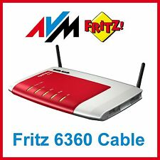 AVM FRITZBox 6360 Cable Router 300 Mbps 4-Port 1000 Mbps