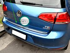 Stainless Rear Trunk Tailgate Strip Edge Garnish for Volkswagen VW Golf 7 MK7