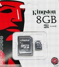 8GB Micro SD HC Memory Card Nintendo DS DSi XL 3DS LITE - Wii - Galaxy S5 Mobile