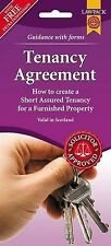 SCOTLAND ONLY !! TENANCY AGREEMENT FORM PACK FOR FURNISHED PROPERTY NEW SF401