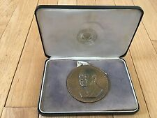 1967 Appreciation Presidential Trip Medal - President Lyndon B. Johnson