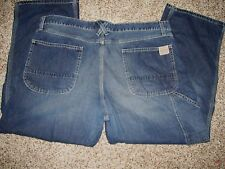 """Old Navy Men Workers Jeans 42"""" X 29"""" (Tag 42 X 30)  100% Cotton Carpenter"""