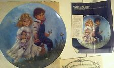 Rare Jack and Jill Collector Plate by Reco - New in Box!!