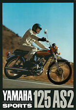 YAMAHA Brochure AS2 YAS2 125 Sports 1969 1970 Sales Catalog REPRO in Japanese