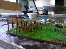 N scale Sheep stock yard KIT