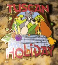 Pin Lady And The Tramp Tuscan Holiday ABD adventures By Disney Viva Italia Italy