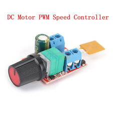 New DC 3V-35V Motor PWM Speed Controller Speed Control Switch LED Dimmer