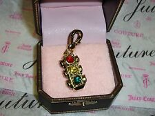 New Juicy Couture Traffic Light Charm For Bracelet, Necklace