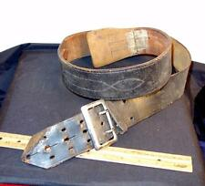 Vintage Service MFG. Co. Yonkers NY Police Duty Belt !