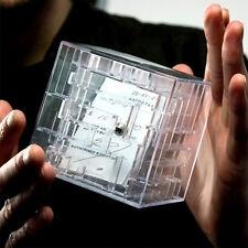 1× Spardose 3D Kugel Labyrinth Maze Sparbüchse Würfel Geld Maze Money Bank