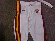 2013 Iowa State Cyclones Game Used/Worn White Nike Football Pants Size-26