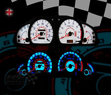 Nissan Almera mk1 Speedometer dash lighting upgrade white dial kit0-140mph