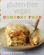 GLUTEN-FREE VEGAN COMFORT FOOD NEW Cookbook 125 recipes book cupcakes cheese