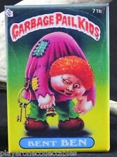 "Garbage Pail Kids Bent Ben 2"" X 3"" Fridge / Locker Magnet."