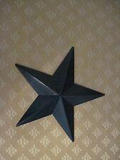 """12"""" Black Barn Star Metal Primitive"""