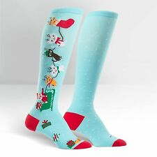 Sock It To Me Women's Knee High Socks - Jingle Cats