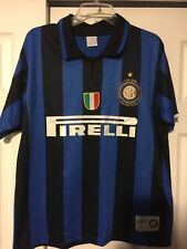 Vintage Racing God Imfc 1908-2008 Internazionale Milano Inter Milan Jersey 23x29