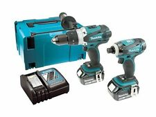 Makita DLX2005M 18v combi marteau perforateur 2 x 4.0AH batteries + visseuse + étui