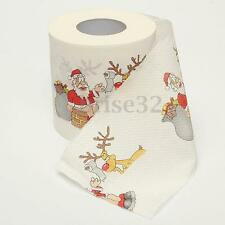 1Roll Santa Claus Merry Christmas Toilet Paper Table Living Room Decoration