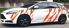 FORD TIGER STRIPES 2 VINYL  FOCUS ST RS TURBO GRAPHICS STICKERS DECALS 1 COL