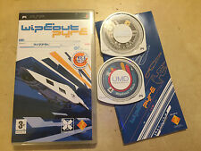 2 SONY PSP PORTABLE RACE GAMES WIPEOUT PURE COMPLETE midnight club 3 dub edition