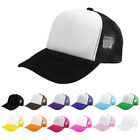 Blank Plain Snapback Hats Unisex Men's Hip-Hop adjustable bboy Baseball Cap A+++