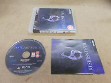 PS3 Playstation 3 Pal Game RESIDENT EVIL 6 with Box Instructions