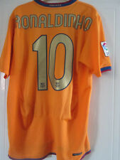 Barcelona Ronaldinho 10 2006-2007 Away Football Shirt Size Medium /39042