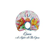 QUEEN - A NIGHT AT THE OPERA (LIMITED BLACK VINYL)  VINYL LP NEW+