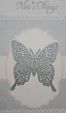Large Vine Butterfly cut cutting stencil set fancy dies Elegant scrapbook