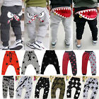Child Toddler Baby Boys Girls Fashion Print Sport Trousers Kid Casual Long Pants