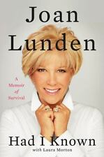 Had I Known: A Memoir of Survival - Good - Lunden, Joan - Hardcover