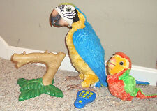 Hasbro FurReal Squawkers McCaw Interactive Talking Parrot, Baby, Perch, Remote