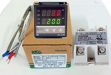 Termoregolatore temperatura TERMOSTATO CON SONDA,SSR 40A.da 0° a 400° V.100-240