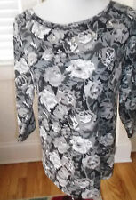 DREAM OUT LOUD BY SELENA GOMEZ FLORAL FRENCH TERRY TOP NWT SIZE XL