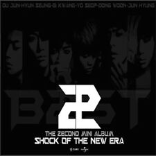 B2ST BEAST - [SHOCK OF THE NEW ERA] 2nd Mini Album CD + Photo Book K-POP Sealed
